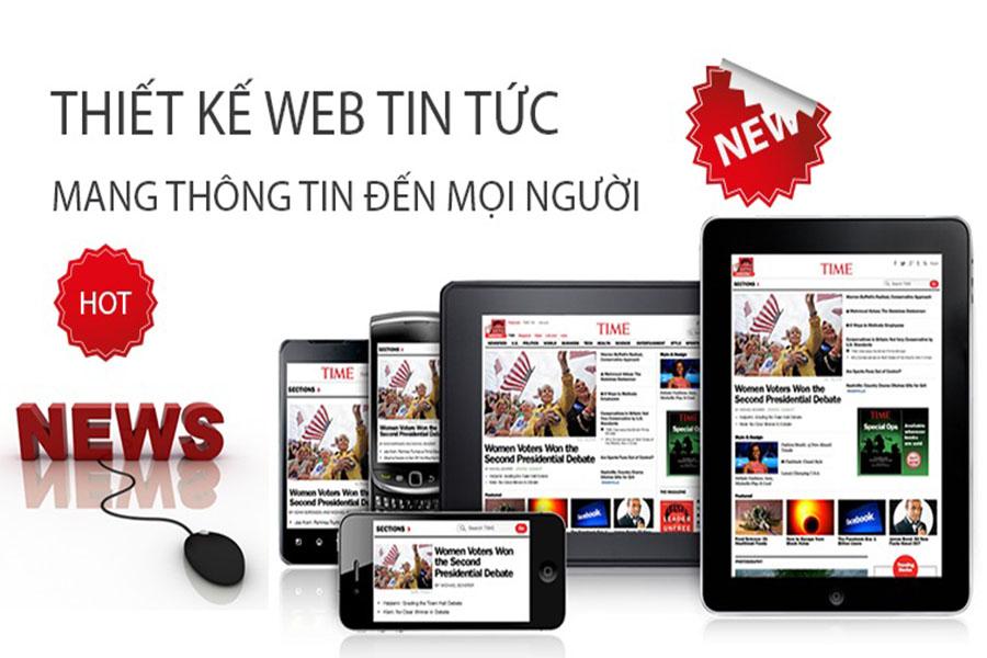 Thiết kế website tin tức tổng hợp – Báo điện tử Online