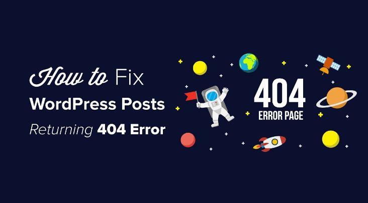 Cách xử lý - khắc phục lỗi 404