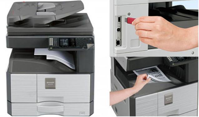 5 bước kết nối máy tính với máy photocopy