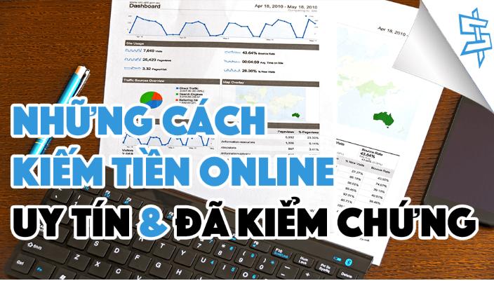 cách kiếm tiền online